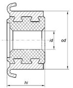 Коллектор моторчика печки KSS0014