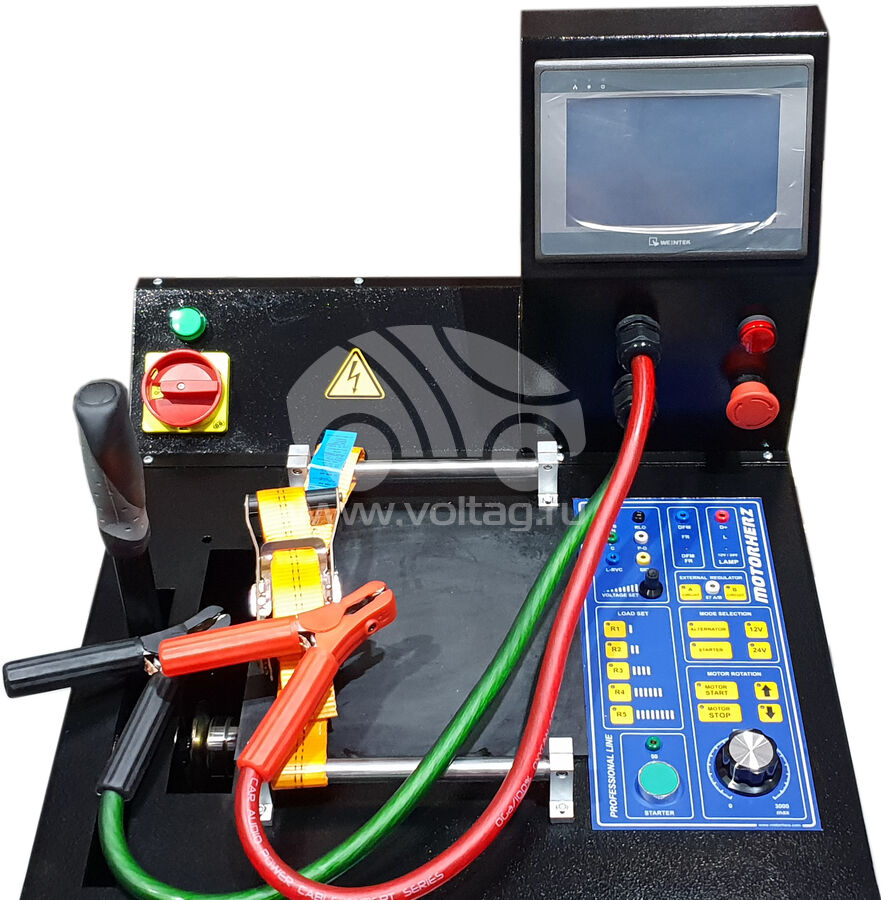 Стенд проверки генераторов и стартеров 380V Motorherz ME1BLCD (Motorherz ME1B LCD / 380V)