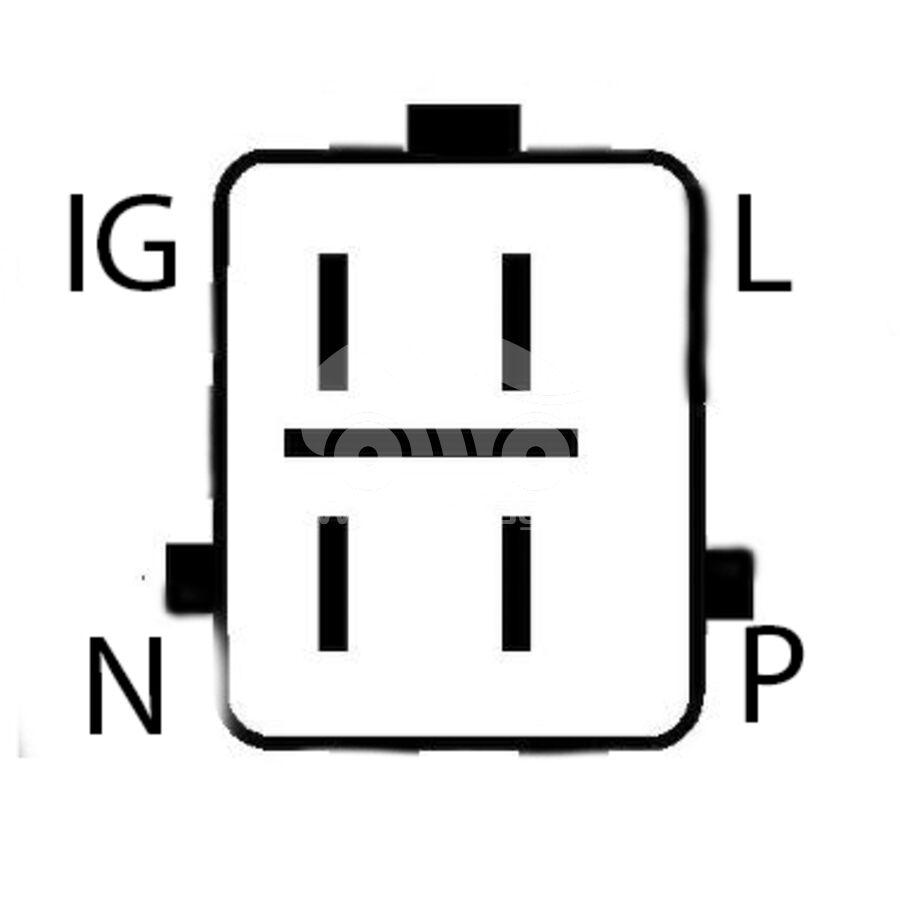ГенераторKRAUF ALW7766SK (ALW7766SK)