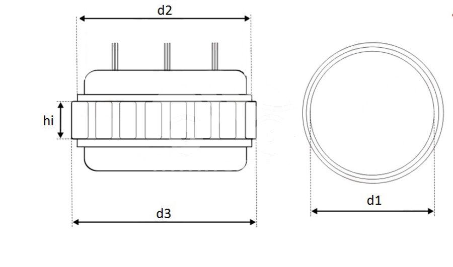 Статор генератора AFM6612