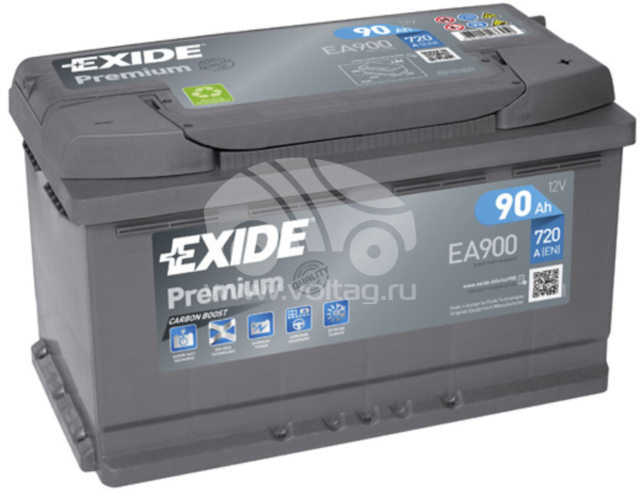 АккумуляторExide EA900 (ATE0900XE)