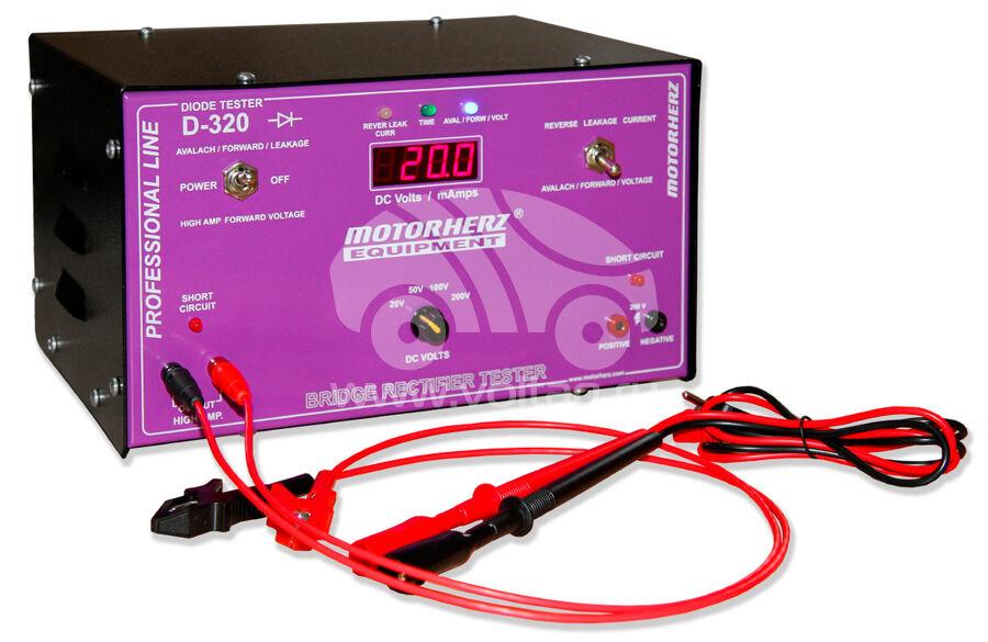 Тестер диодных мостов генератора Motorherz D-320 (D-320)