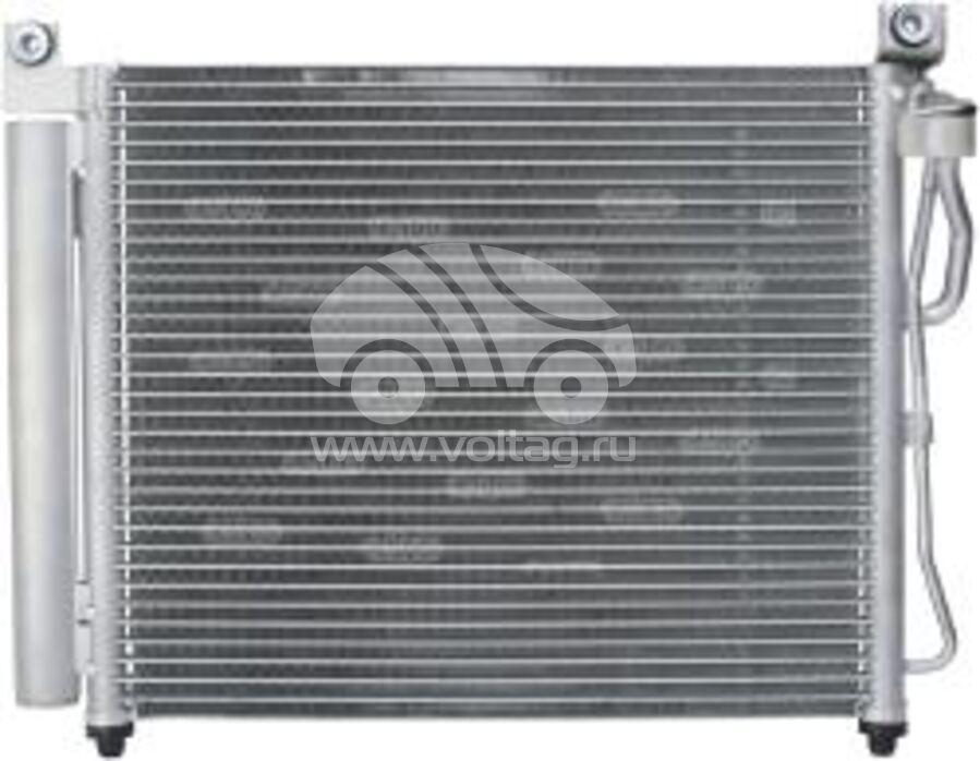 Радиатор кондиционера KRC0404