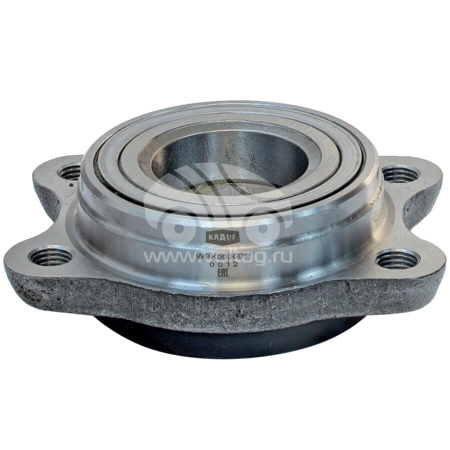 Ступица колеса с подшипником в сборе и монтажный комплектKRAUF WBK0006DU (4D0407625H)