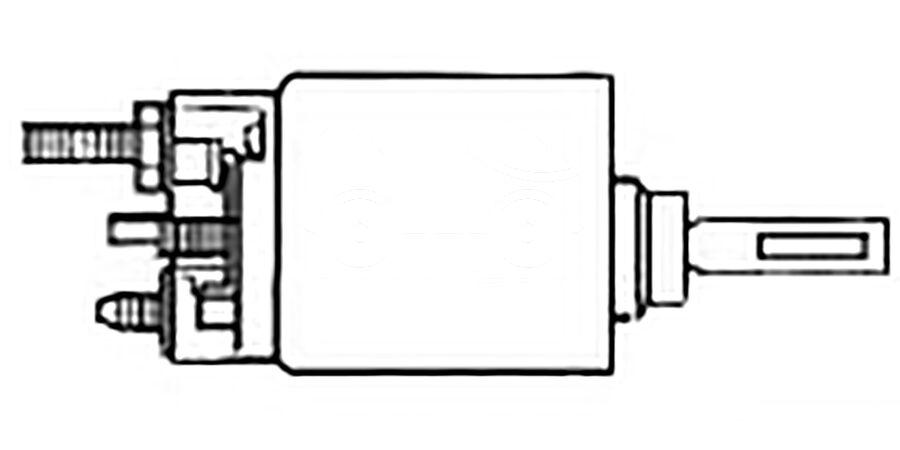 Втягивающее реле стартера SSV1482