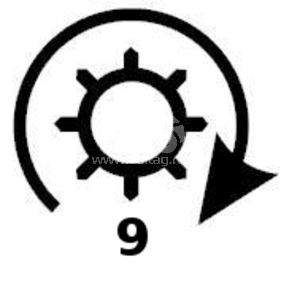 Бендикс стартераKRAUF SDN8164PN (31207PH9004)