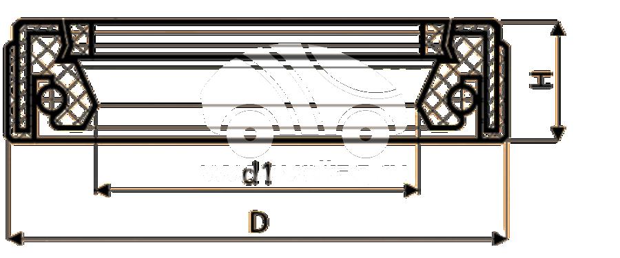 Сальник рулевой рейки HAZ0730A