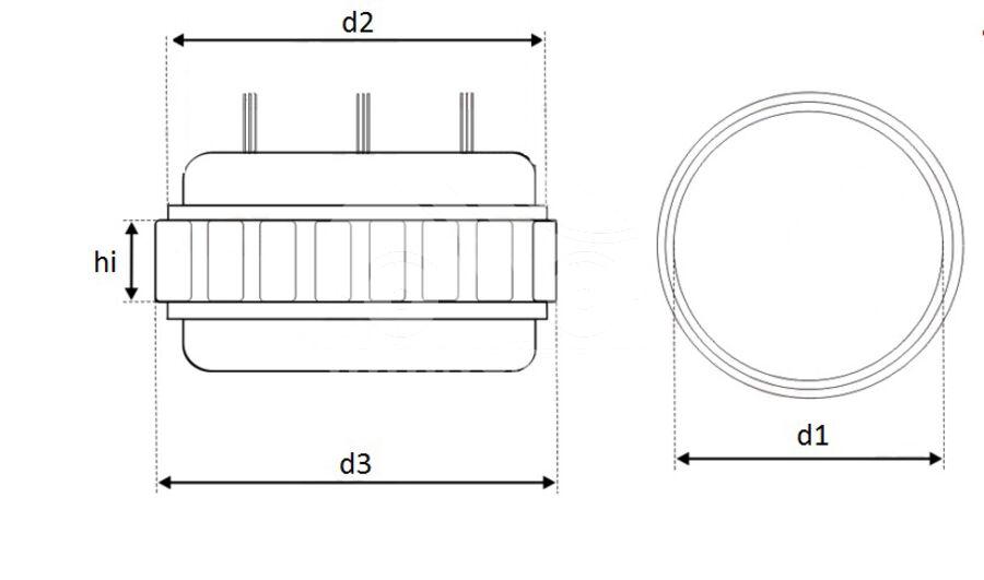 Статор генератора AFD0528