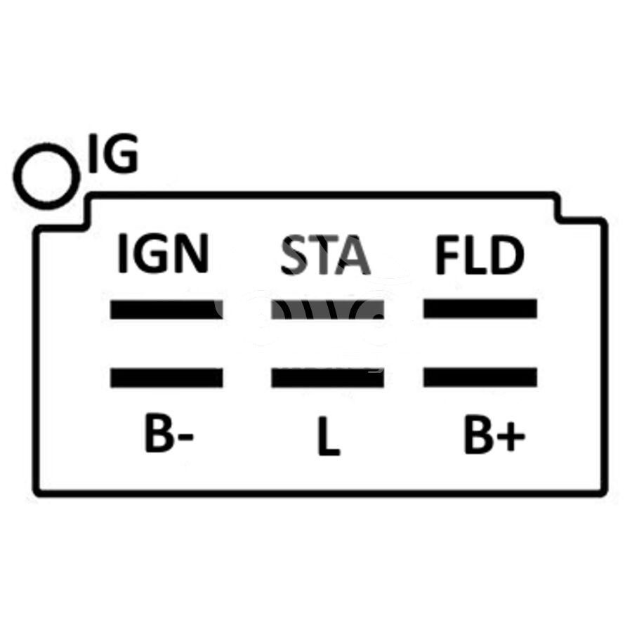 Регулятор генератора ARN6558