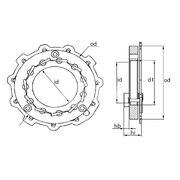 Геометрия турбокомпрессора MGT0017