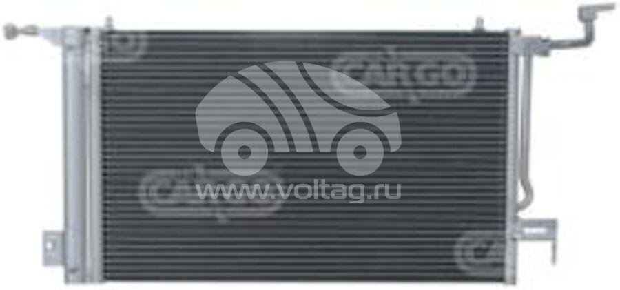 Радиатор кондиционера KRC0377