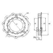 Ключ для геометрии турбокомпрессоров MGT9007