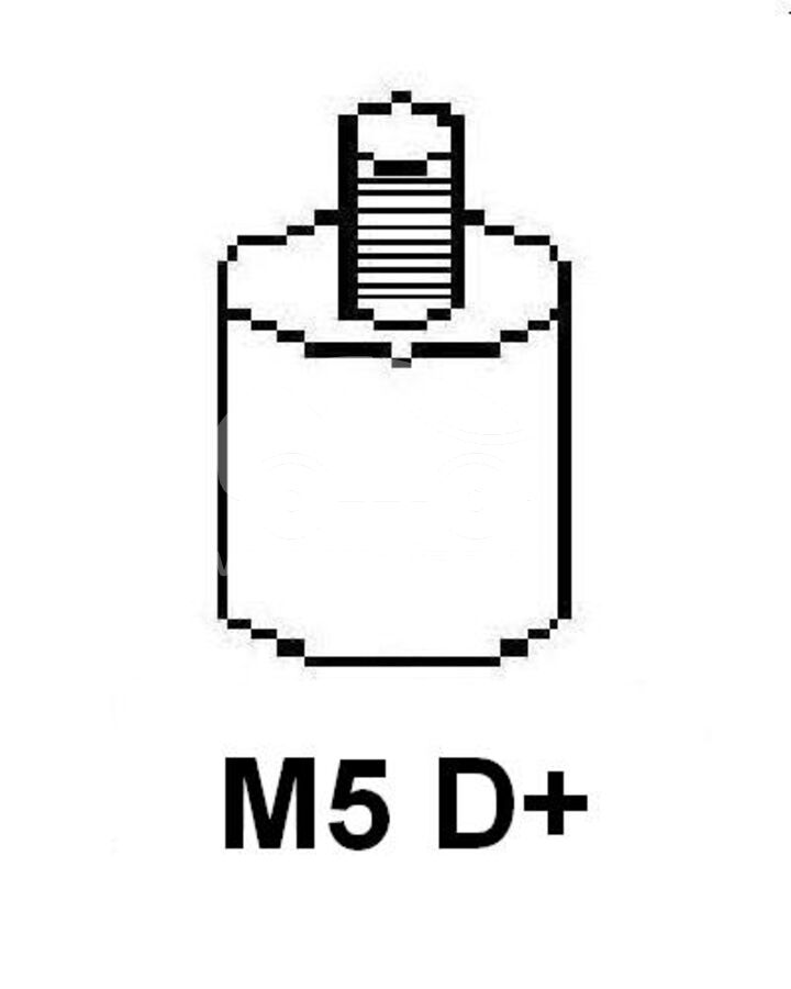 ГенераторMAHLE MG29 (AAN5346)