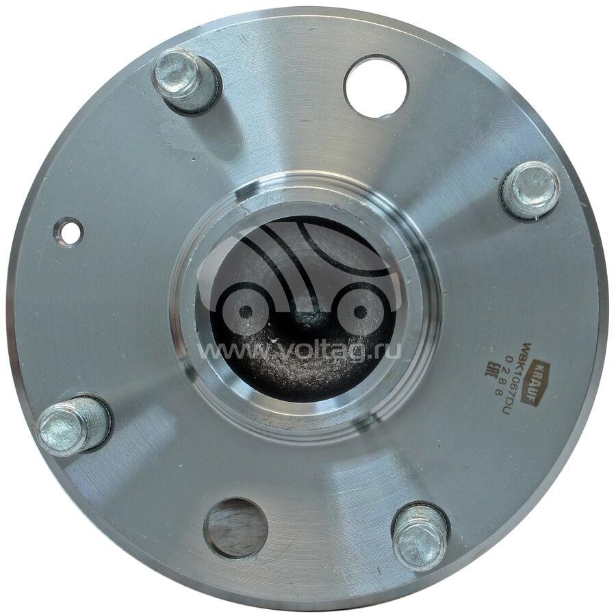 Ступица колеса с подшипником в сборе и монтажный комплектKRAUF WBK1067DU (96639607)