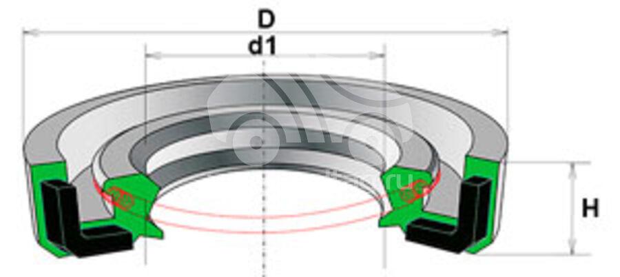 Сальник рулевой рейки HAZ0215R