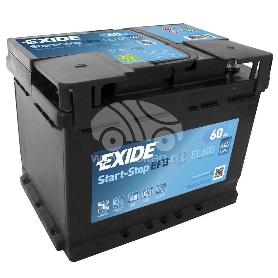 АккумуляторExide EL600 (ATE1064XE)