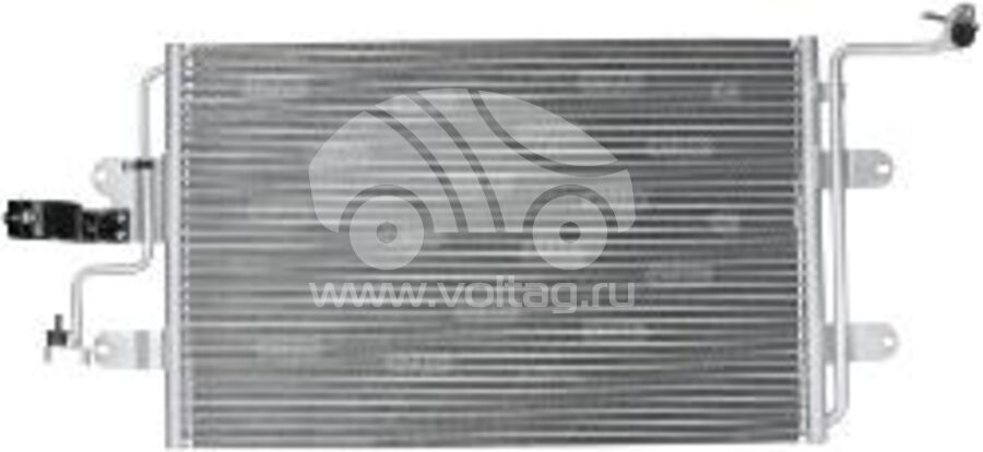 Радиатор кондиционера KRC0154