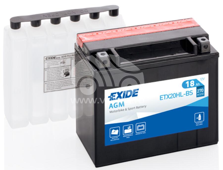 АккумуляторExide ETX20HLBS (ATM1810XE)