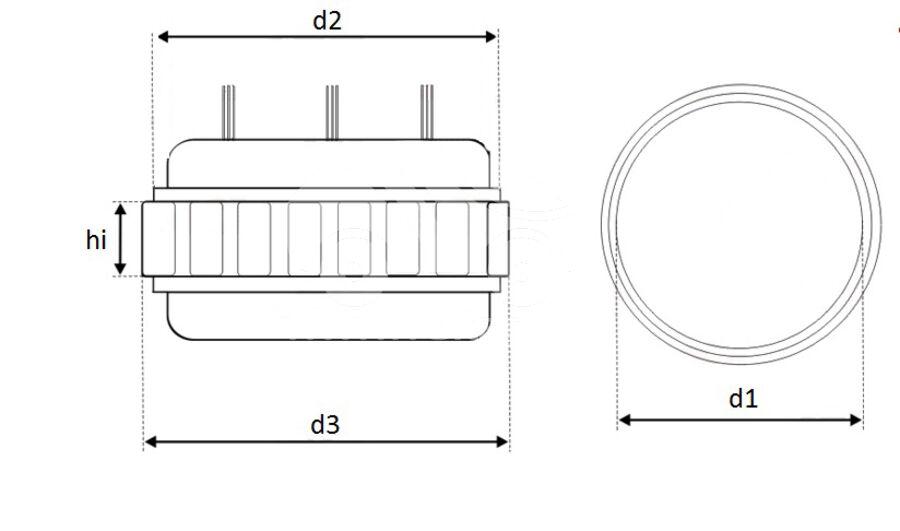 Статор генератора AFN5414