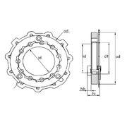 Геометрия турбокомпрессора MGT0006
