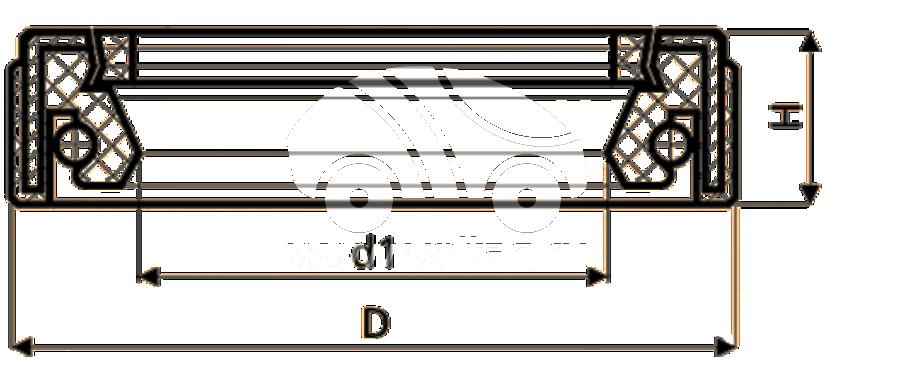 Сальник рулевой рейки HAZ1523