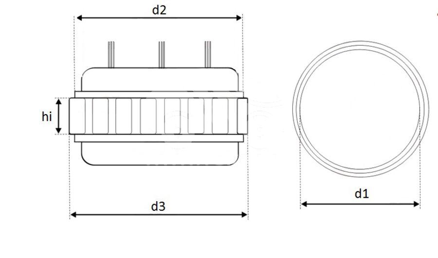 Статор генератора AFM8603